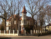 Kaliningrad, Russia A private residence in the street Kutuzov — Stock Photo