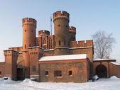 Kaliningrad, Rusland fridrihsburgsky poort in de winter — Stockfoto
