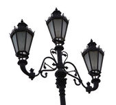 Ornate street lamp — Stock Photo