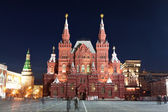 Red square in Moscow at night — Foto de Stock