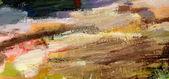 Kolor kolorowy wody leje na papierze — Zdjęcie stockowe