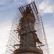 Royalty-Free Stock Photo: Guan Yin statue under construction
