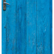 Royalty-Free Stock Photo: Old blue wooden door