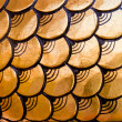 Golden dragon scales pattern — Stock Photo #8786767