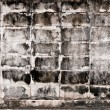 Aged gray rectangle brick wall — Stock Photo #8874423