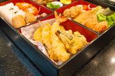 脆皮炸的虾 — 图库照片