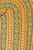 壁にタイのパターン — ストック写真