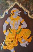 Masterpiece Ramayana painting — Stock Photo
