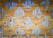 Braun webart bambus — Stockfoto