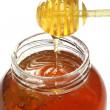 honey dipper — Stock Photo