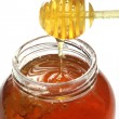 Honey Dipper - Stock Photo
