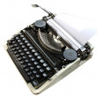 Stock Photo: Typewriter