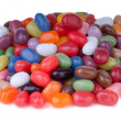 colorful jelly beans — Stock Photo