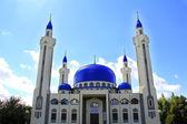 Landskap med islam tempel av södra ryssland — Stockfoto