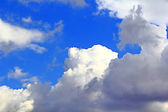 Image of summer fluffy sky — Stock Photo