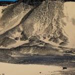 Mountains in Black Desert of western Egypt — Stock Photo #8928463