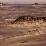Black Desert in Sahara, western Egypt — Stock Photo #8929330