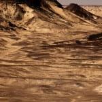 Black Desert in Sahara, western Egypt — Stock Photo #8929414