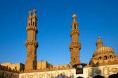 Al-Azhar University and mosque, Cairo, Egypt — Stock Photo