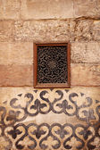 Wall ornament in Madrasa & Dome of Al-Nassir Mohammed Ibn Qalawa — Stock Photo