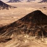 Black Desert in Sahara, western Egypt — Stock Photo #9664491