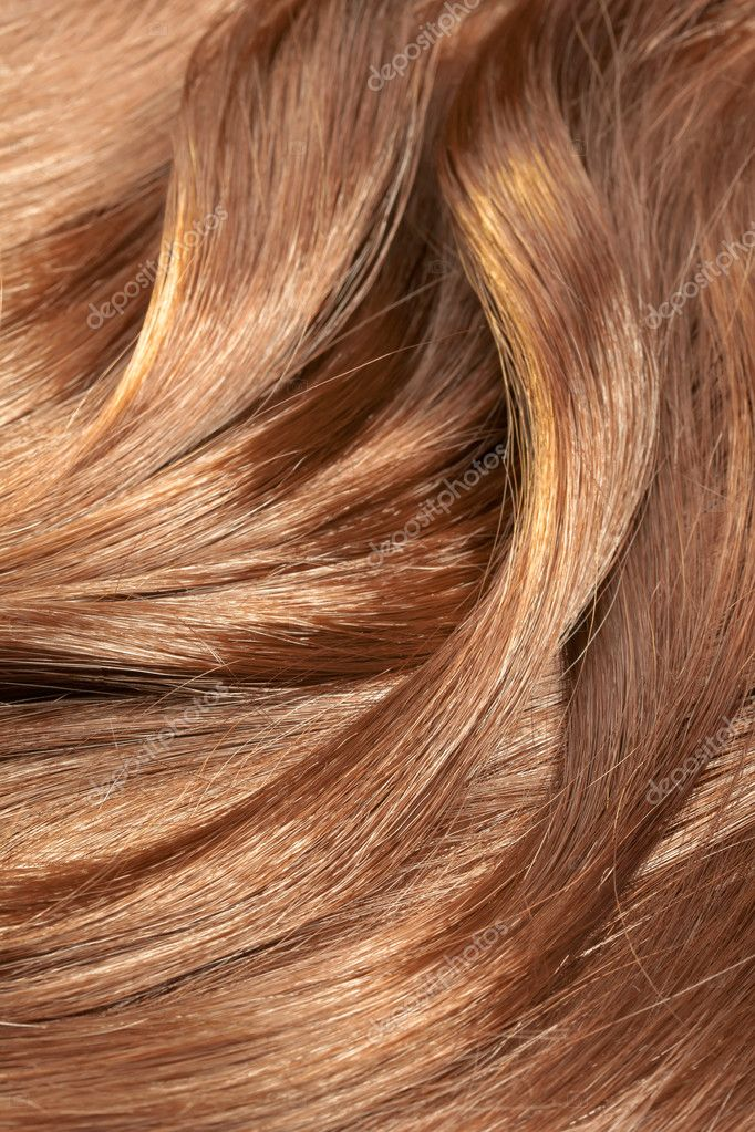 Beautiful healthy shiny hair texture with highlighted ...
