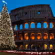 Christmas coliseum - Stock Photo