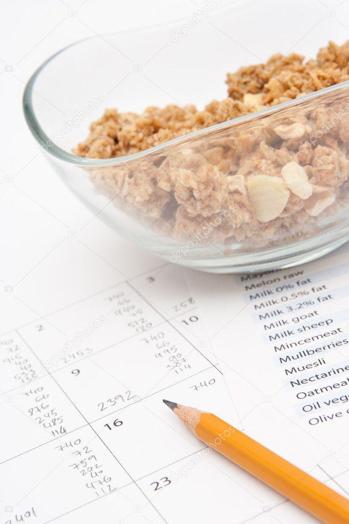 Data retrieval chart food labeling information