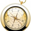 Stock vektor: Vector vintage compass