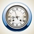 Royalty-Free Stock Vector Image: Vector vintage clock