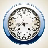 Vektorové vinobraní hodiny — Stock vektor