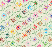 Vector abstract floral background — Stock Vector