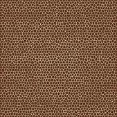 Vector animal skin textures of giraffe — Stock Vector