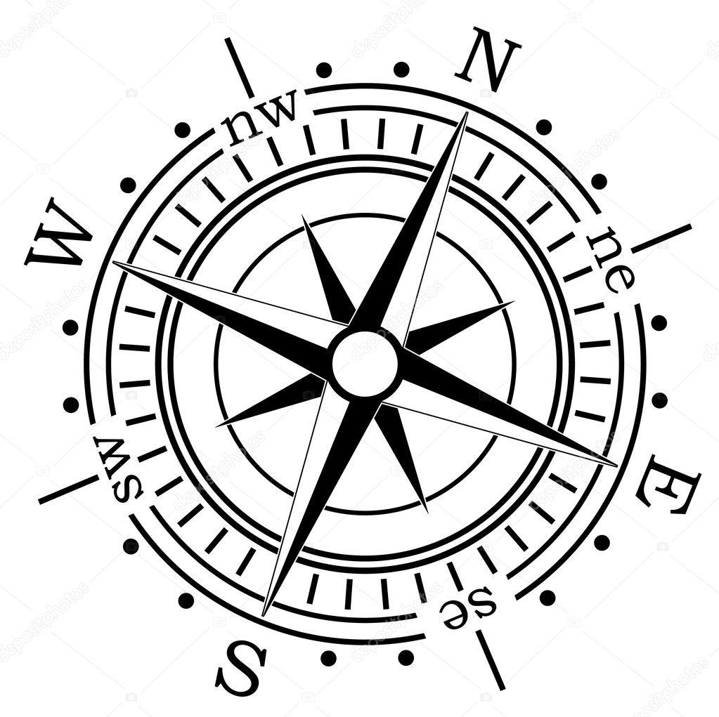 компас вектор
