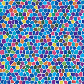 Vector abstract colorful mosaic background — Stock Vector