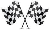 Vector bandeiras de corrida — Vetorial Stock