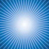Vector abstract background of blue star burst — Stock Vector