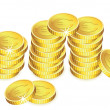 Vector golden coins — Stock Vector #9235092