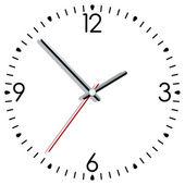 векторные часы — Cтоковый вектор