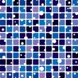 Vector abstract tile background — Stock Vector