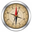 Vector vintage compass — Stockvector #9545633