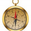 Vector vintage compass — Stockvector #9705033