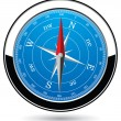 Vector compass — Stockvectorbeeld
