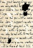 手書きのテキストをベクターします。 — ストックベクタ