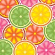 Stock Vector: Vector citrus background