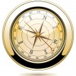 Vector vintage compass — Stockvector #9917165
