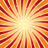 Vector abstract background of star burst — Stock Vector