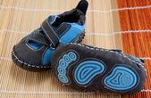 Zapatos de bebé hechos a mano — Foto de Stock