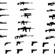Постер, плакат: A set of different weapons