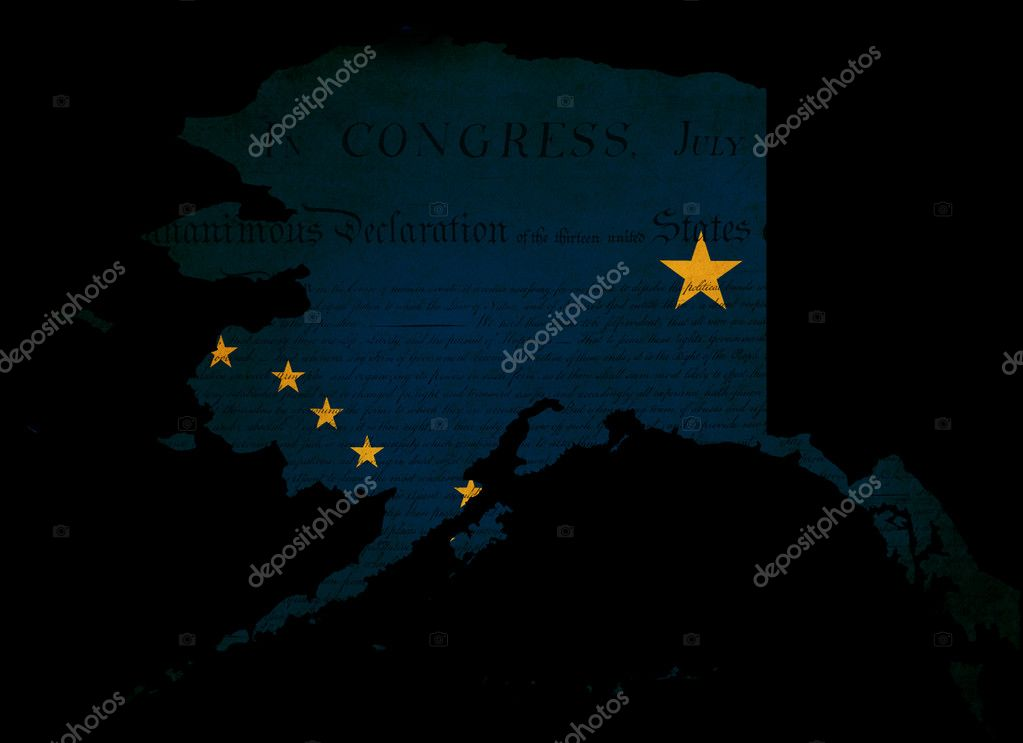 Maps That Will Help You Put The United States In Perspective - Alaska usa overlay map